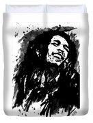 Bob Marley Silhouette   Duvet Cover