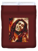 Bob Marley Vegged Out Duvet Cover
