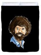 Bob Ross Duvet Cover