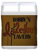 Bobby's Idle Hour Duvet Cover