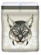 Bobcat Duvet Cover