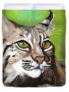Bobcat Katta Duvet Cover