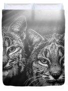 Bobcats Duvet Cover