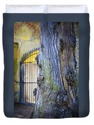 Boboli Garden Ancient Tree Duvet Cover