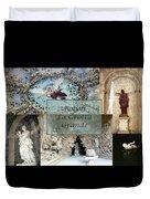 Boboli La Grotta Grande 2 Duvet Cover by Ellen Henneke