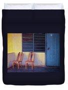 Boca De Yumuri Porch Duvet Cover
