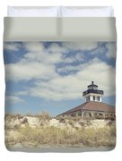 Boca Grande Lighthouse Duvet Cover