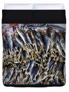 Bodboron Filipino Dried Fish Duvet Cover