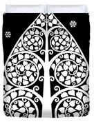Bodhi Tree_v-8 Duvet Cover