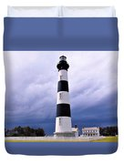 Bodie Island Contrast Duvet Cover