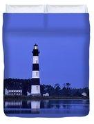 Bodie Island Lighthouse At Dusk - Fs000607 Duvet Cover