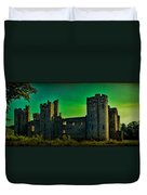 Bodium Castle Panorama Duvet Cover