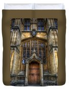 Bodleian Library Door - Oxford Duvet Cover