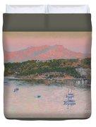 Bodrum.pink Sunrise Duvet Cover