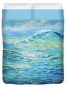 Bodysurfing Rolling Wave Duvet Cover