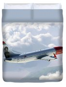 Boeing 737 Norwegian Air Duvet Cover