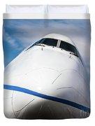 Boeing 747 Jumbo 1 Duvet Cover
