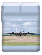 Boeing B-17 Flying Fortress Sally B Duvet Cover