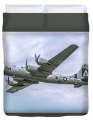 Boeing B-29 Superfortress Fifi In Flight Duvet Cover