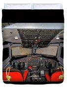Boeing C-135 Cockpit Duvet Cover