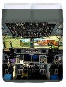 Boeing C-17 Globemaster IIi Cockpit Duvet Cover