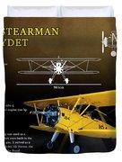 Boeing Stearman N2s Kaydet Duvet Cover