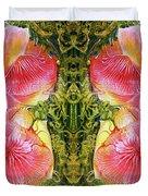 Bogomil Anniversary Flower - Digital Duvet Cover