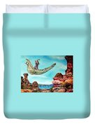 Bogomils Journey Duvet Cover