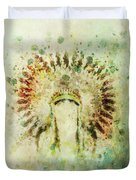 Boho Headdress Duvet Cover
