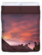 Bohol Sunset  Duvet Cover