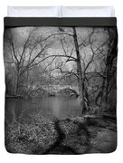 Boiling Springs Stone Bridge Duvet Cover