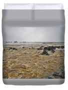 Boiling Waters Duvet Cover