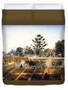 Bois De Fleche Plantation Louisiana 1861 Duvet Cover