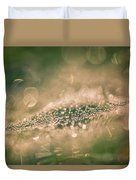 Bokeeh Of Pearls Duvet Cover