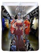 Bold Mannequins Fashion Display In Palma Majorca Spain Duvet Cover