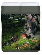 Boletus Mushroom Duvet Cover