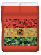 Bolivia Flag Duvet Cover