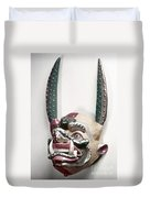 Bolivia: Native Mask Duvet Cover