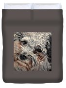 Bolognese Breed Duvet Cover