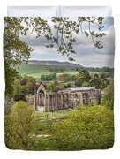 Bolton Abbey In Spring Duvet Cover