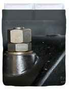 Bolts And Nuts In Industry Duvet Cover