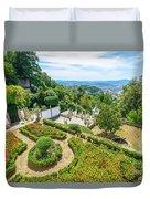 Bom Jesus Do Monte Panorama Duvet Cover