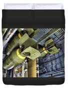 Bomb Carriage Wwii  Duvet Cover