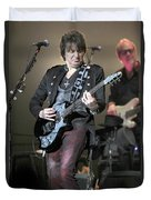 Bon Jovi Guitarist Richie Samboro Duvet Cover