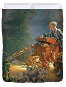 Bon Voyage Duvet Cover by Greg Olsen
