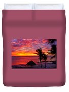 Bonaire Sunset 1 Duvet Cover