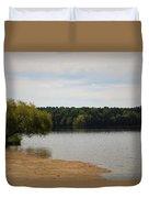 Bond Lake Beach Duvet Cover