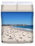 Bondi Beach In Sydney Australia Duvet Cover