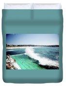 Bondi Icebergs Duvet Cover