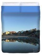 Bondi Wading Pool Reflections Duvet Cover